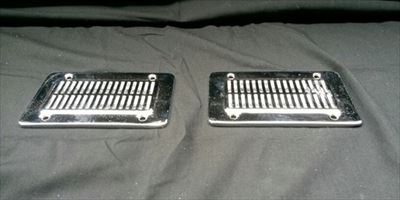Chrome Plated Vent Covers