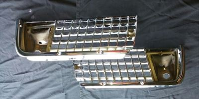 Chrome Plating On Metal Car Grill Parts