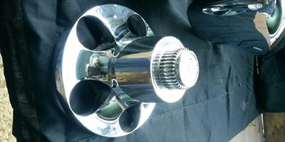 Chrome Plating on Metal Car Part